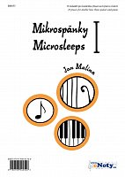 MIKROSPANKY 1 by Jan Malina - 10 short pieces for double bass (bass guitar) & piano