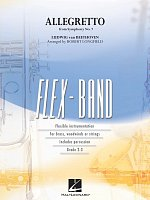 FLEX-BAND - Allegretto from Symphony No.7 (Beethoven) / partitura + party