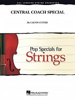 Central Coach Special - Pop Specials for Strings / partitura + party