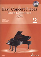 Easy Concert Pieces 2 + CD / klavír sólo