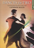 Dances for Two 3 by Catherine Rollin / 1 piano 4 hands