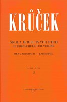 School of violin etudas II. (book 3+ 4/playing in positions) by Vaclav Krucek