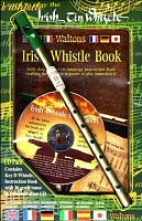 rish Tin Whistle Book (key of D) + CD pack (book/CD/whistle)