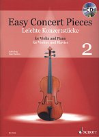 Easy Concert Pieces 2 + CD / violin + piano