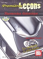 FIRST LESSONS - BLUES HARMONICA + CD (french edition)