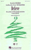 BELIEVE - from The Polar Express / SATB* + piano/chords