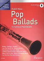 POP BALLADS + Audio Online / klarinet + klavír