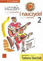 STACHAK, Tatiana - Pupil and teacher 2 - easy guitar duets