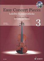 Easy Concert Pieces 3 + CD / violin + piano