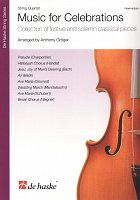 Music for Celebrations / 8 festive and solemn classical pieces for string quartet