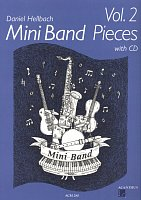 Mini Band Pieces 2 by Daniel Hellbach + CD / 4 pieces for mini band