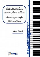 ZIDEK, Petr: Four easy pieces for flute and piano
