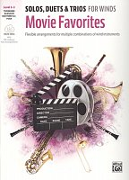 MOVIE FAVORITES: Solos, Duets & Trios for Winds + Audio Online / trombone, bassoon, tuba + piano (PDF)