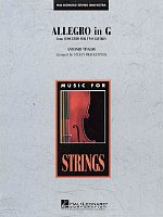 Allegro in G by Antonio Vivaldi - String Orchestra / score + parts
