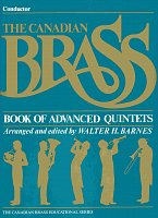 THE CANADIAN BRASS - Book of Advanced Quintets - conductor