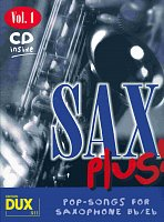 SAX PLUS ! vol. 1 + CD   alto / tenor saxofon