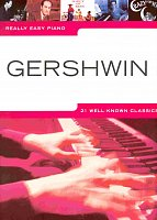 Really Easy Piano - GERSHWIN (21 well-know classics)