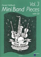 Mini Band Pieces 3 + CD / 4 pieces for mini band