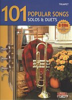 101 POPULAR SONGS SOLOS & DUETS + 3x CD / trumpeta (trubka)
