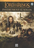 LORD OF THE RINGS - INSTRUMENTAL SOLOS + CD / klarinet