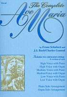 AVE MARIA, The Complete by F.Schubert & J.S Bach/Ch.Gounod    vocal (high,medium,low) + klavír (varhany)