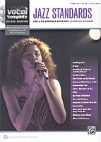VOCAL COMPLETE - FEMALE VOICE 1 - JAZZ STANDARDS + 2x CD // piano/vocal/guitar