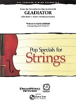 GLADIATOR - Pop Special for String Orchestra / partitura + party