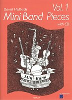 Mini Band Pieces 1 + CD / 4 pieces for mini band