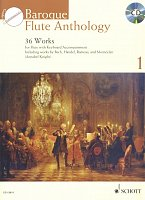 Baroque Flute Anthology 1 + CD / příčná flétna + klavír