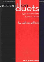 ACCENT ON DUETS by William Gillock / 1 piano 4 hands