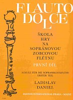 FLAUTO DOLCE 1 - SOPRANO by L.Daniel     descant recorder instructions & excercises
