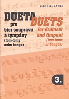 DUETS 3 for drumset and timpani/tom-toms/bongos